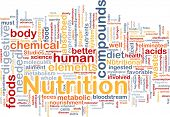 stock photo of mitosis  - Background concept wordcloud illustration of nutrition food health - JPG