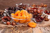assorted fruit dried poster