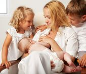pic of breastfeeding  - Mother breastfeeding her baby - JPG