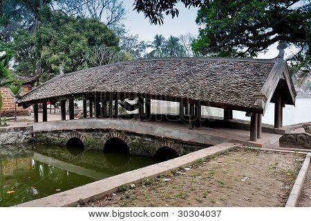 Nhat Tien Bridge - Hanoi