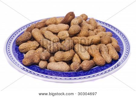 Peanuts On White