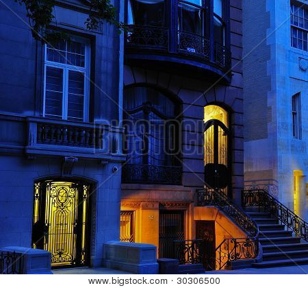 New York City Townhouses