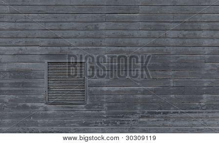 Horizontal Blank Plank Wall