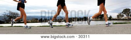 Laufen Frauen