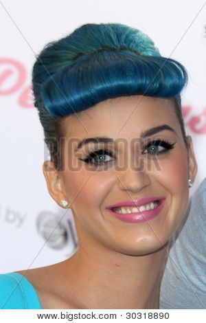 "LOS ANGELES - FEB 22:  Katy Perry celebrates the Launch of ""Katy Perry Lashes"" at the The Americana at Brand on February 22, 2012 in Glendale, CA."