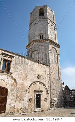 Sanctuary of Monte Sant'Angelo. Puglia. Italy.