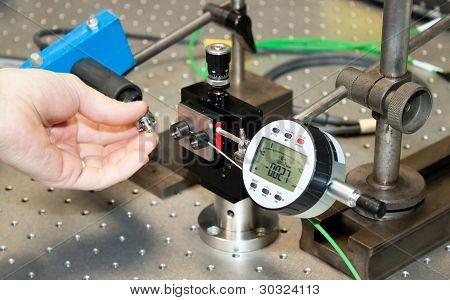 Medidas de controle no laboratório de desenvolvimento