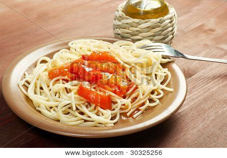 Close Up Spaghetti
