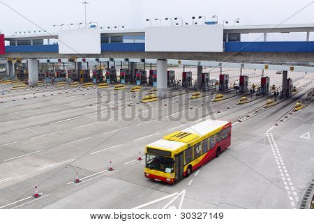 toll station