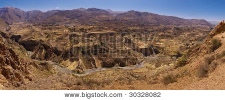 Colca Canyon Terraces
