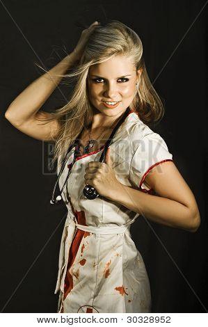 Dead sexy Krankenschwester