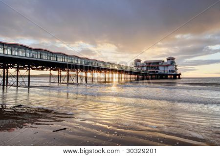 The Old Pier at Swanage