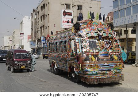 Pakistan_pakistan Bus Transportations