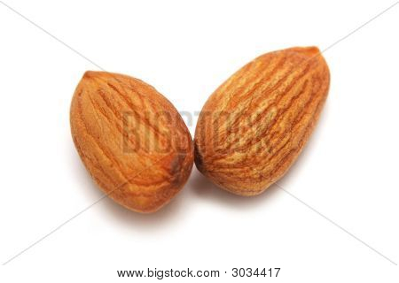 Two Almond Nuts