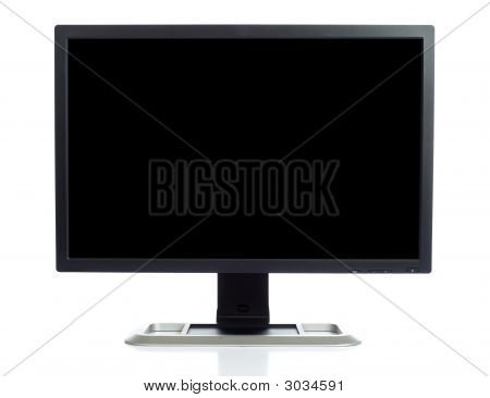 Computer Screen On White