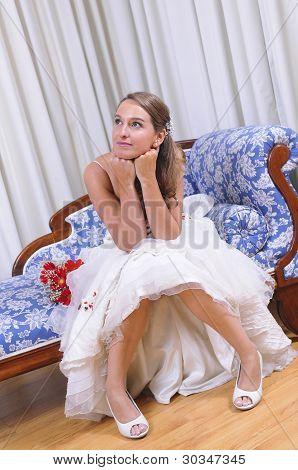 Bride Studio Shot