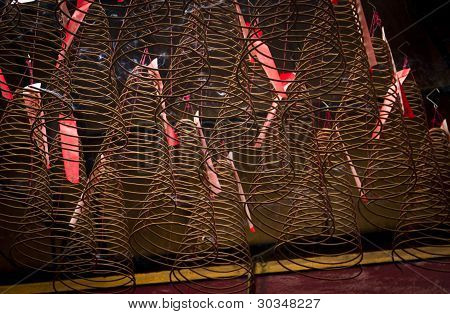 Cones of incense