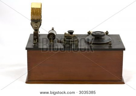 Antique 1920S Wireless Crystal Set