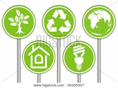 Recolher a bandeira do meio ambiente