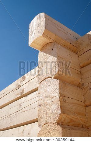 Log Home Construction Detail