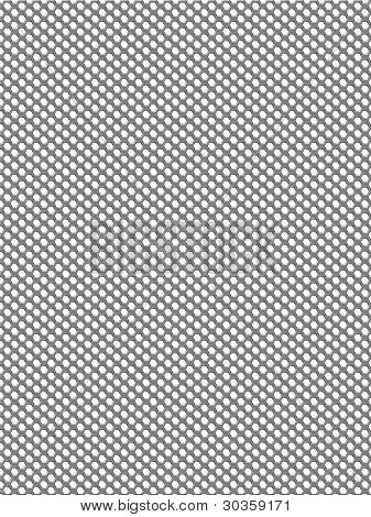 Metal Hole Perforated Grid Background