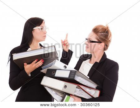 female business advice conflict