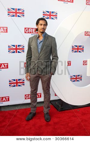 LOS ANGELES - FEB 24:  Elliot Knight arrives at the GREAT British Film Reception at the British Consul General�¢??s Residence on February 24, 2012 in Los Angeles, CA.