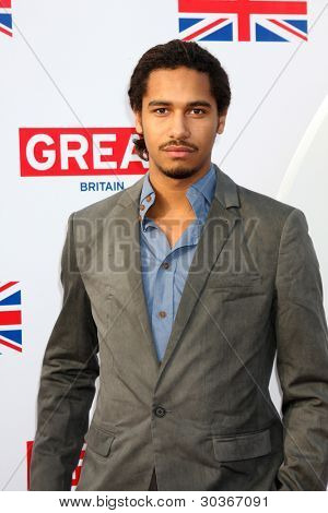 LOS ANGELES - FEB 24:  Elliot Knight arrives at the GREAT British Film Reception at the British Consul General�?�¢??s Residence on February 24, 2012 in Los Angeles, CA.