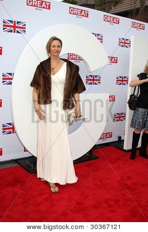 LOS ANGELES - FEB 24:  Janet McTeer arrives at the GREAT British Film Reception at the British Consul General�¢??s Residence on February 24, 2012 in Los Angeles, CA.
