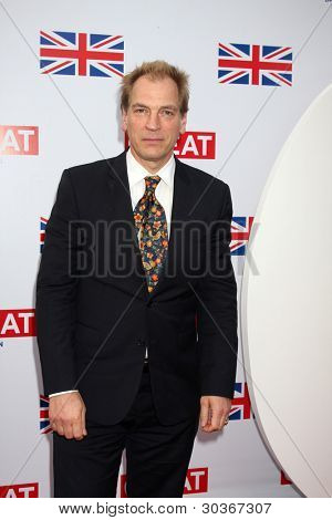 LOS ANGELES - FEB 24:  Julian Sands arrives at the GREAT British Film Reception at the British Consul General�¢??s Residence on February 24, 2012 in Los Angeles, CA.