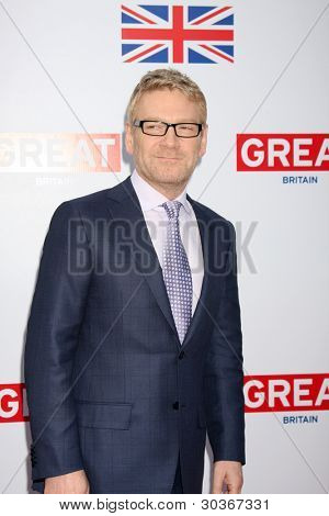 LOS ANGELES - FEB 24:  Kenneth Branagh arrives at the GREAT British Film Reception at the British Consul General�¢??s Residence on February 24, 2012 in Los Angeles, CA.