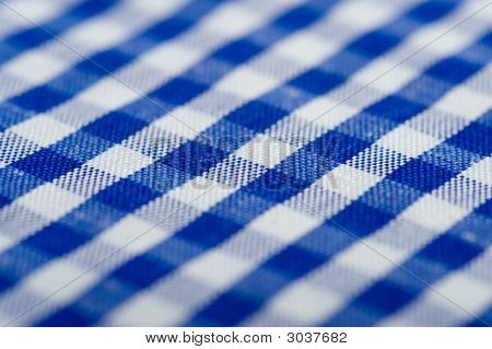 Blau karierte Hintergrund
