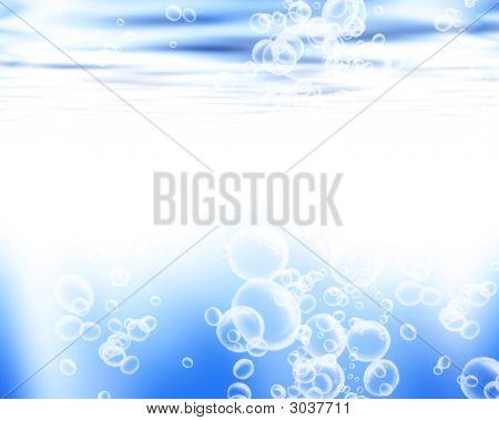 Soft Blue Waves