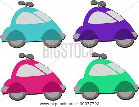 Mistura de carro Windup brinquedos