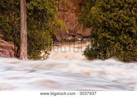 Rapids On Gooseberry River