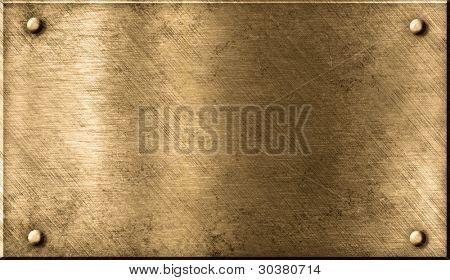 grunge bronze ou metal fundo de latão