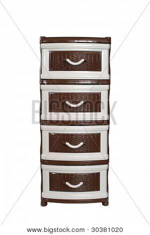 Plastic dresser
