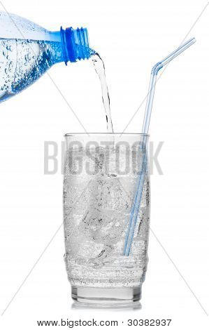 Iced Mineral Water
