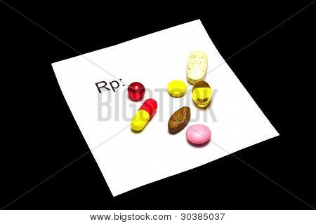 tablets on recipe