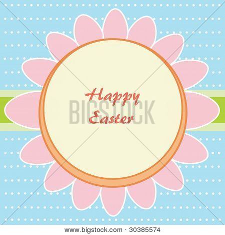 Flower Of Easter Eggs