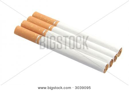 Cigarettes With Nicotine, Tar And Tobacco