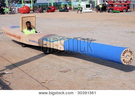 Cricket bat Car - Wacky cars