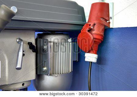 elektrische Steckdose