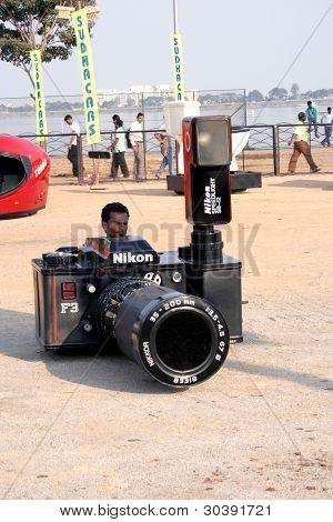 Camera car-Wacky cars