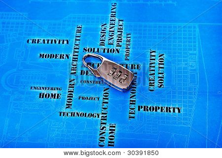 Zugangscode für High-Tech