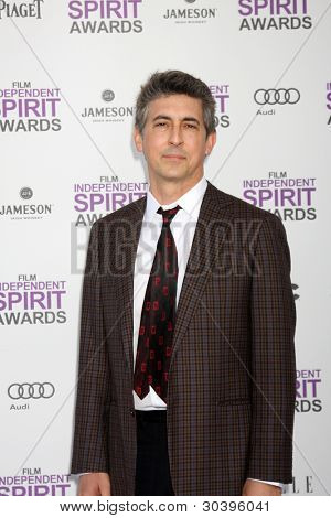 LOS ANGELES - FEB 25:  Alexander Payne arrives at the 2012 Film Independent Spirit Awards at the Beach on February 25, 2012 in Santa Monica, CA