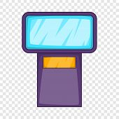 Flash Icon. Cartoon Illustration Of Flash Vector Icon For Web poster