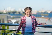Event Overview. What Do On Holidays. Leisure Options. Free Time And Leisure. Girl Cute Kid Urban Bac poster