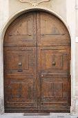 Medieval Wooden Door poster