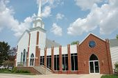 stock photo of deacon  - The United Methodist Church in Manteno IL - JPG